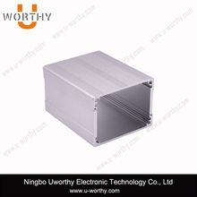 China Top Manufacturer Split Body Black Aluminum Shell Sheet Metal Enclosure for Electronic
