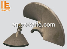 high reputation auger blade for dynapac mixer dynapac asphalt paver