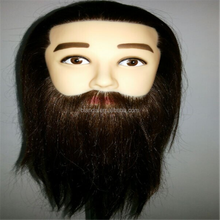 Male mannequin head, training head, hair dressing mannequin doll