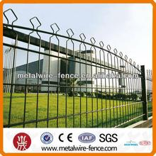 PVC Ornamental spear top metal fence/landscap trellis