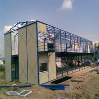prefabricated house/ movable holiday house/light steel structure movable prefabricated house
