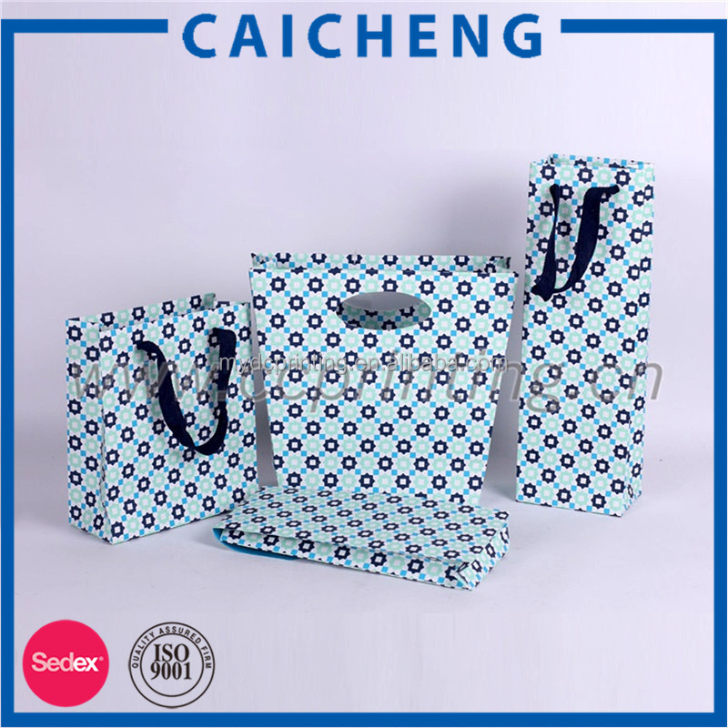 Promotional OEM Customized Packaging Paper Bag With Handle