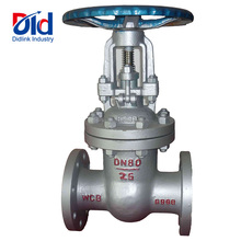 Carbon Or <strong>Stainless</strong> Steel WCB PN25 DN80 Manual Or Electric Operated Flanged Connected Gate Valves