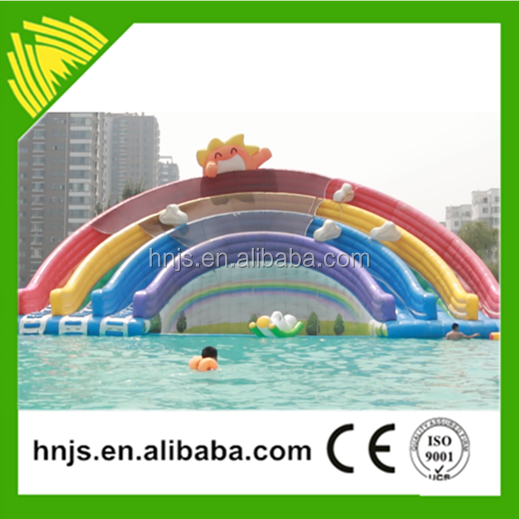 Top sale funfair attraction jumping castles inflatable water slide