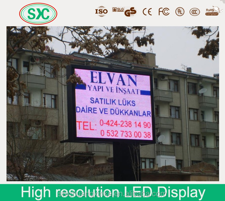 Epoxide resin battery powered led message board factory