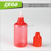 Empty 15ml PET Medical Eye Drops Bottle/ Plastic Eye Dropper Bottle with Childproof Cap for E-liquid Bottle
