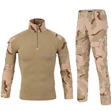 Tactical Camouflage Military Uniform Clothes Suit Men US Army clothes Military Combat Shirt + Cargo Pants