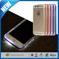 C&T New Orignal LED Flash Phone Shell Case Cover for Iphone 6 Plus 5.5 Inch