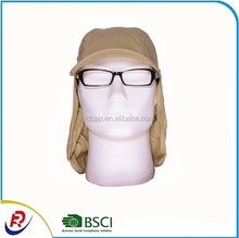 Outdoor Climbing Cycling Fishing Baseball Cap Summer Sun Hats Cooling Breathable Sport Cap with Neck Cover Protection