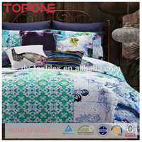 Colorful printed floral patchwork quilts made in china