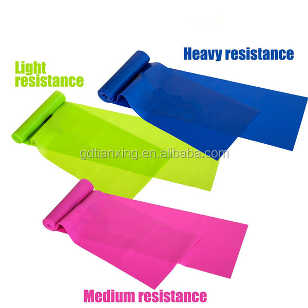 Custom Health lifestyle Resistance bands Elastic Yoga Exercise