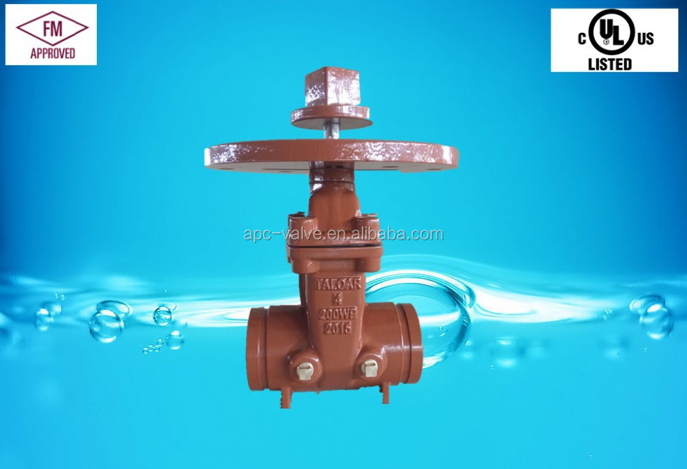 Grooved End Gate Valve