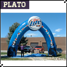Customized inflatable advertising circle arch for sale