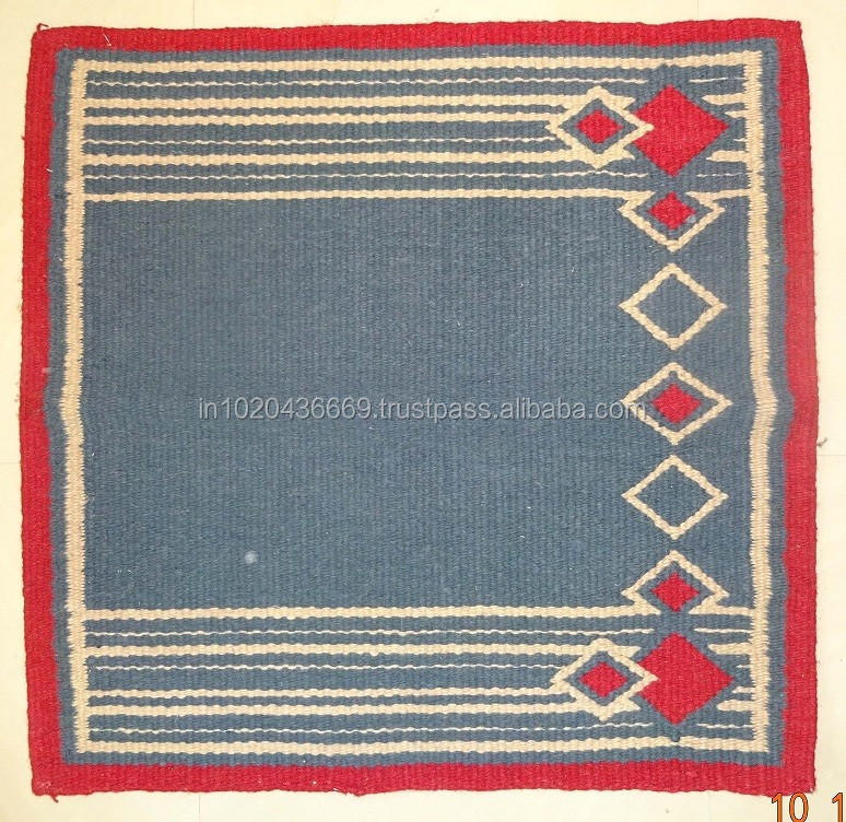 Newzeland Wool Western Saddle Blanket