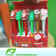 China factory LED Christmas day pen LED Christmas pen