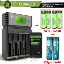 ESYB S6 Fast Battery Charger for 6pcs 18650 Batteries+ AA AAA Li-ion NiCd NiHM