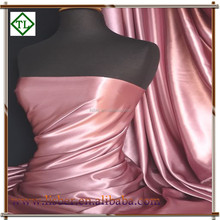 95% polyester 5% spandex stretch satin fabric composition