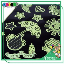 Glow In Dark Sticker Sheet For Kids Decor Custom