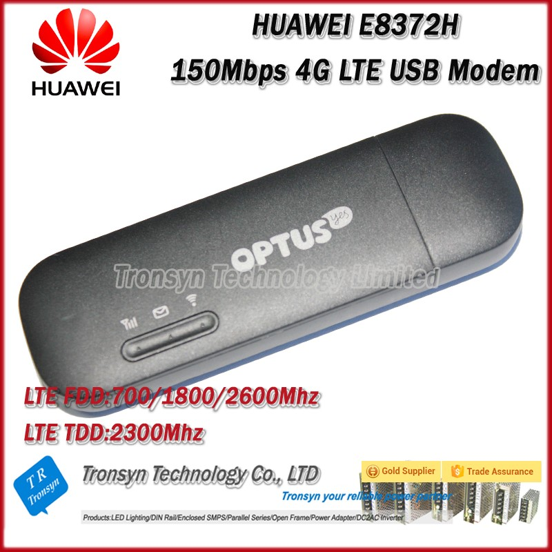 Original Unlock 150Mbps LTE 4G Modem WiFi Router Support B3 B7 B8 B28 B40 For Huawei E8372H-607