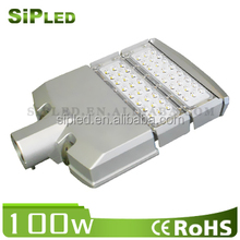 hot sale 100W module led street lights/ warranty 5 years 85V-265V led street lights