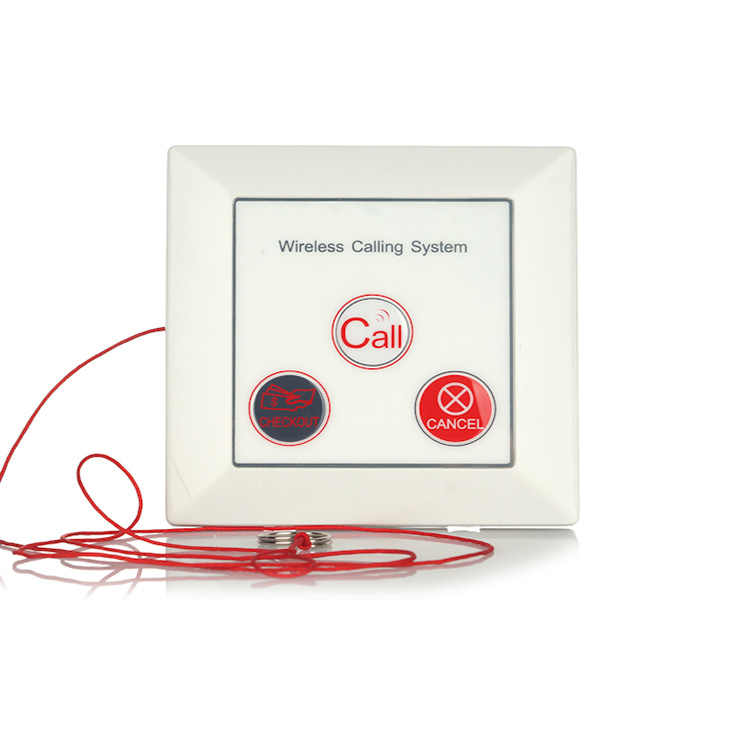 Wall fixed transmitters hospital call button