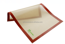 New arrival silicone rubber baking mat with free private label