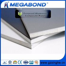 Megabond A2 B1 Grade fireproof siding panel,fire retardant exterior wall panels,fireproof and waterproof wall panel