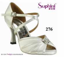 OEM Manufacturer Dance Shoes , Cheap Heel Shoes , White Low Heel Wedding Shoes