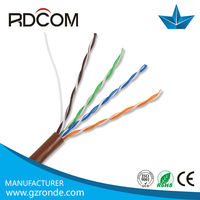 Factory offer twister pair cable utp cat5 /cat6/cat7 /cat5e cable