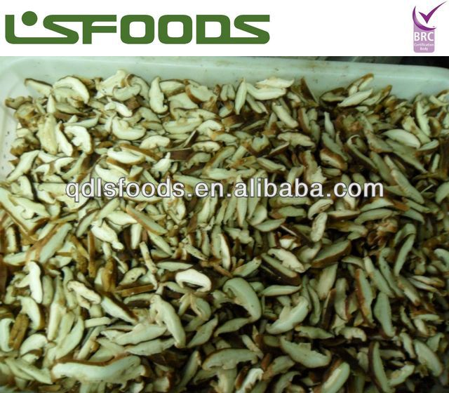 2013 Chinese New Crop IQF Frozen Shiitake Mushroom Sliced /Quarter/Whole