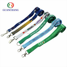 2018 Factory Price Personalized Custom Printing Logo Polyester Neck Lanyards No Minimum Order