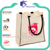 Wellpromotion 16 OZ cotton canvas tote bag rope handle