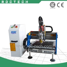 Mini CNC Metal Mold Engraving Machine/Metal Mold CNC Router RC0404