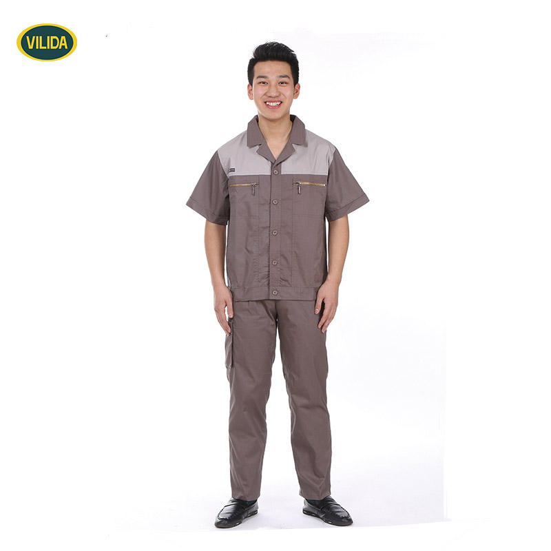 Factory Worker Uniform for Electronic Industrial worker wear made-in china wholesale