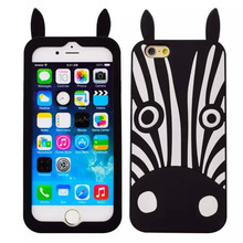 2016 new arrival cute cartoon 3d printed dog mobile phone case for iphone ,for iphone silicon case