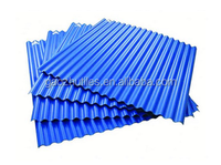 Gaozhu building material pvc plastic roof shingle/2 layers upvc tile in manufacturer