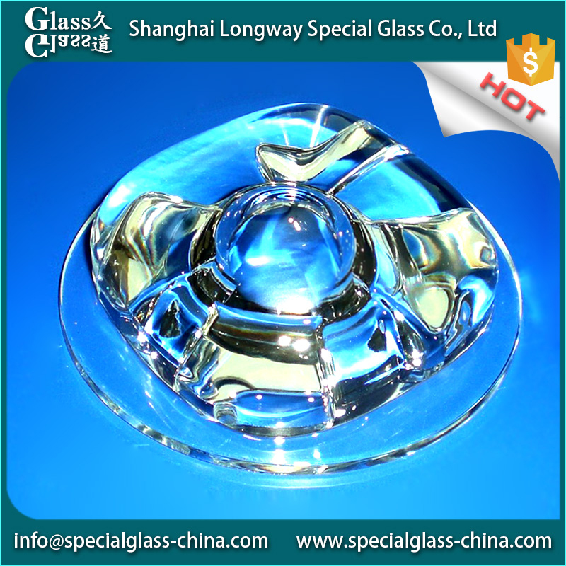 Eco-friendly Energy-saving glass fitting colored pyrex tubing wholesale lamp shade