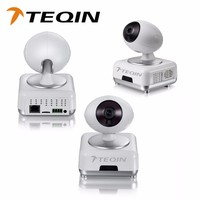 2016 TEQIN waterproof Wifi IP Camera Wireless Software version IOS4.3,Android 2.3 with Alarm Push Technology ip camera