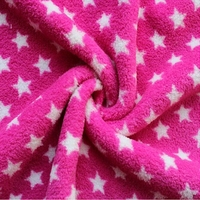 wholesale polyester coral fleece cloth fabric