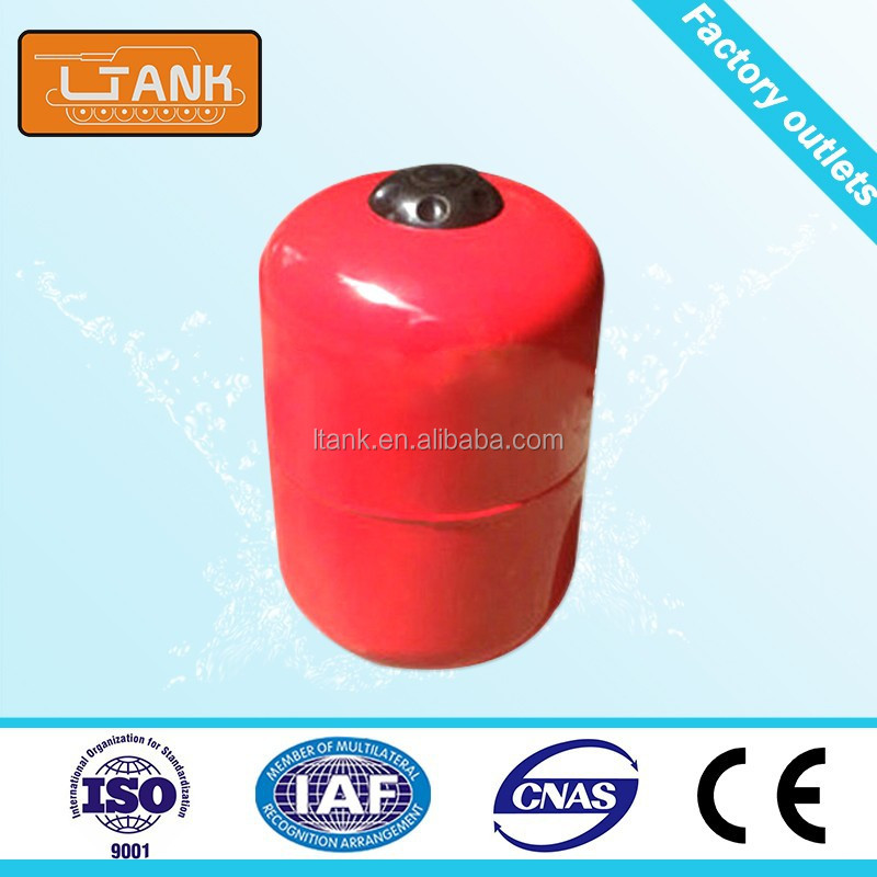 Customized Different Sizes Red Stainless Steel High Pressure Tank