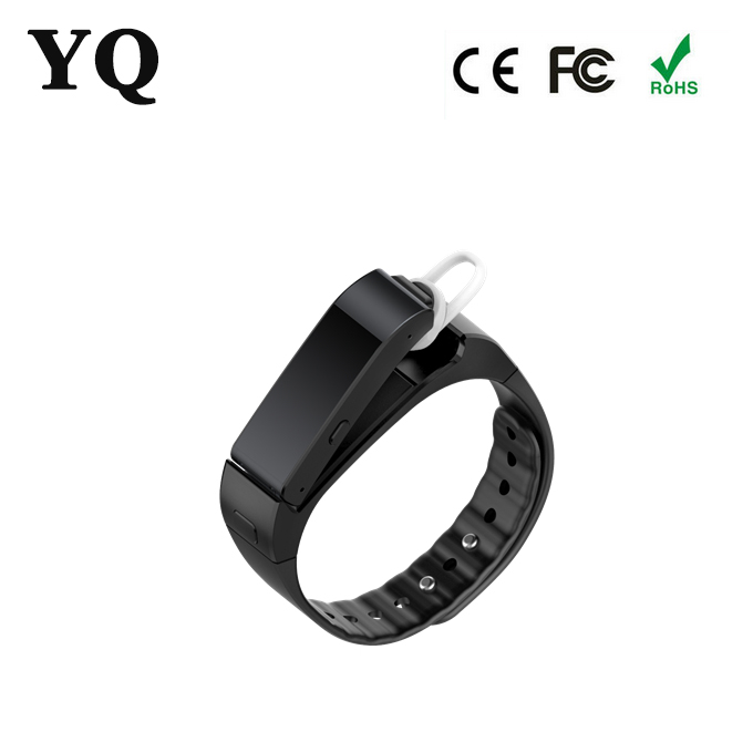 High end smart wristband iwown V6 music voice talk band with music,call controller,eercise and sleeping management