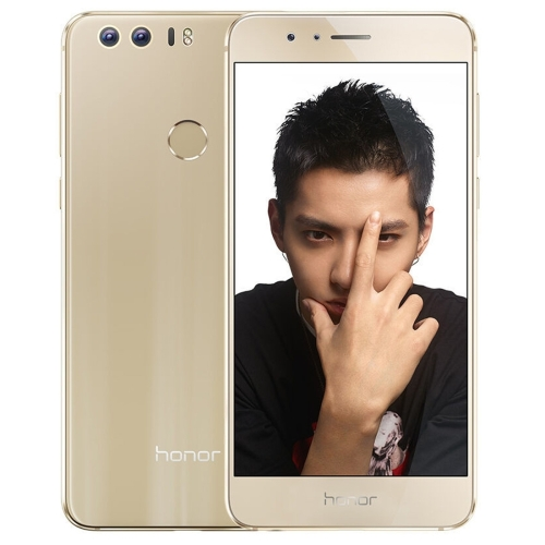 Free Sample Drop shipping Original Mobile Phone Huawei Honor 8 FRD-AL00, 4GB+64GB Unlocked 4G Cell Smartphone