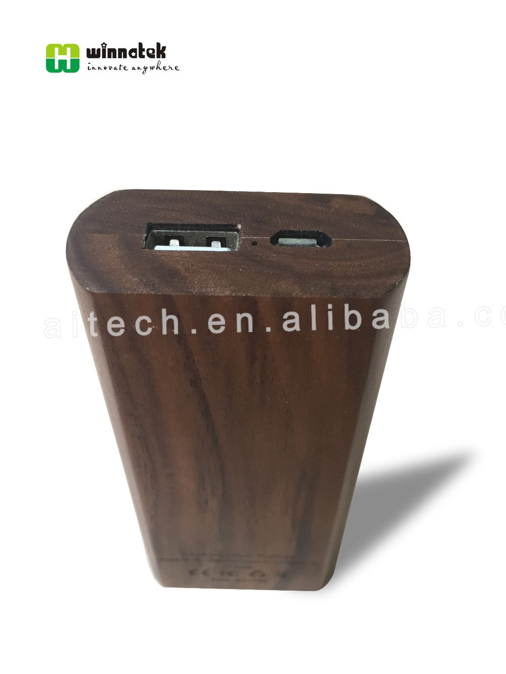 Power Bank Wood 5200mah, Wooden Charger Factory, Wood Power Bank for smartphone