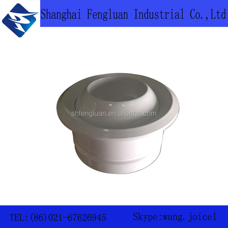 Aluminum HVAC super quality variable round air vent floor air diffuser