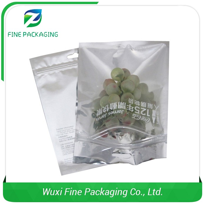 Reputable Manufacturer Zipper Top Snack Ziplock Stand Up Pouches