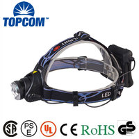 Factory Price LED Light 1200 Lumen Outdoor Rechargeable Head Torch