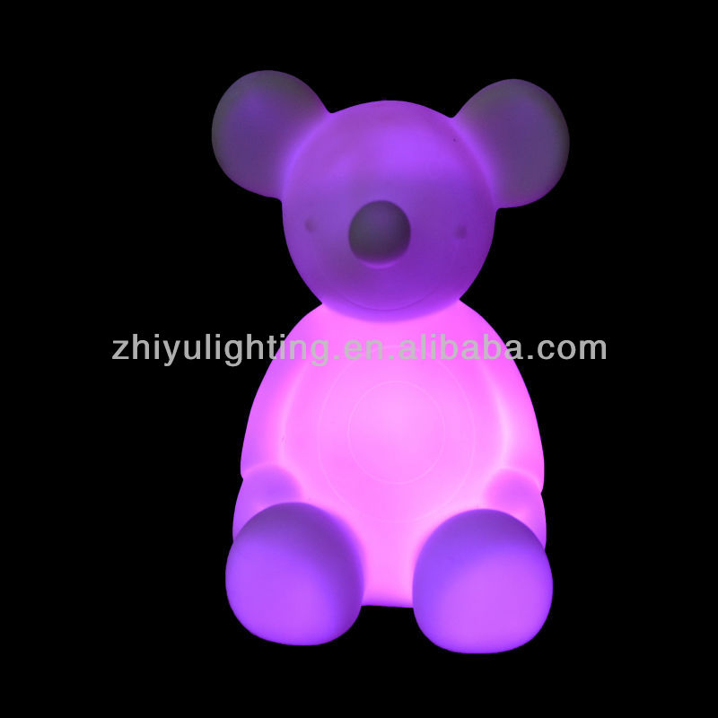 Decoration Night light gift,Light up LED toys,Mouse shaped led lamp