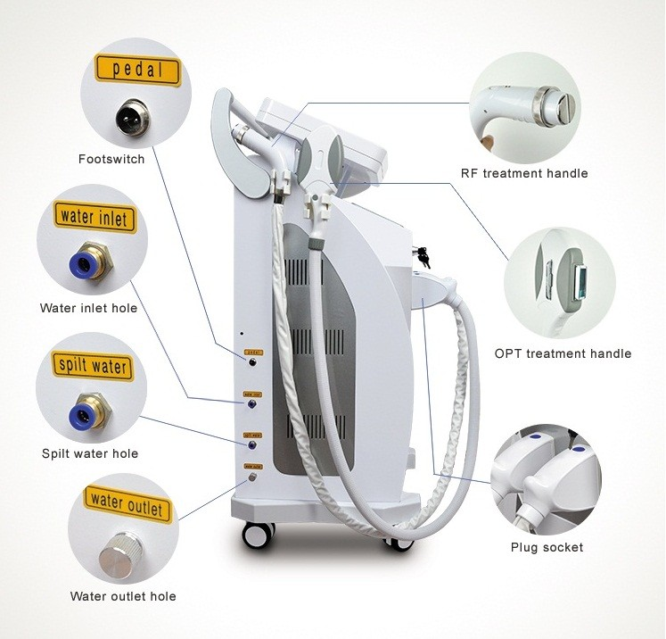 Hot Sale Multifunctional Painless IPL Hair Removal Beauty Machine
