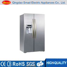 Frost free side by side refrigerator with With Ice maker and Water dispenser