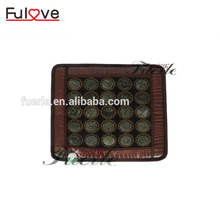 Far infrared heating jade massage mat vibration germanium stone portable electric heat pad massage mattress